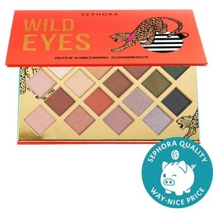Brand new. SEPHORA Wild Eyes Eyeshadow Palette